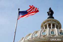 Клипарт depositphotos.com, правительство, флаг сша, капитолий