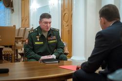 Встреча губернатора Свердловской области Евгения Куйвашева и нового командующего войсками ЦВО Александра Лапина, лапин александр