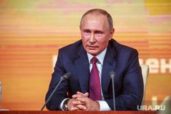 Ежегодная итоговая пресс-конференция президента РФ Владимира Путина. Москва, путин владимир