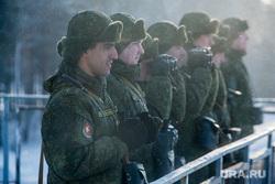 Свердловский полигон., солдаты, военные, боец, бинокль, отряд