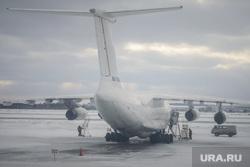 Виды Екатеринбурга, аэропорт кольцово, самолет, техобслуживание, екатеринбург
