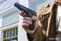 Съемка фильма про маньяка. Челябинск, убийство, пистолет, оружие