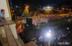 Царские дни в Екатеринбурге: божественная литургия и крестный ход, толпа, прихожане, массовое мероприятие, паломники, царские дни, улица царская, екатеринбург