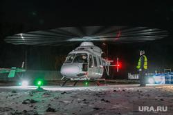 Центр медицины катастроф. Курган, вертолет, взлет, санитарная авиация