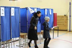 Выборы губернатора Свердловской области. Екатеринбург, кабинки для голосования, выборы 2017, рябцева жанна