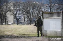 Неопознанные войска в Крыму. Украина. Севастополь, солдат, автоматчик, военный
