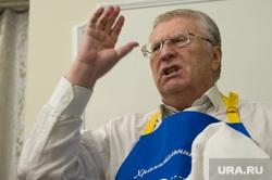 Кандидат в президенты России Владимир Жириновский в Екатеринбурге, жириновский владимир, жест рукой