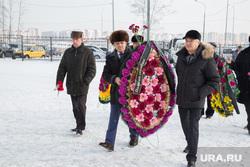 Прощание с Львом Баяндиным, первым губернатором ЯНАО. Тюмень, венок, сайфитдинов фуат, прощание, бабин николай, похороны