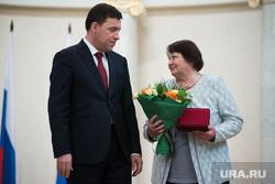 Церемония вручения государственных наград свердловчанам, внесшим значительный вклад в развитие региона. Екатеринбург