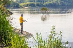 Клипарт 3. Нижневартовск., река, природа, рыбалка, водоем