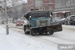 Уборка города от снега Курган, дорожная техника