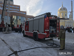 Учения МЧС у World Trade Center, Екатеринбург