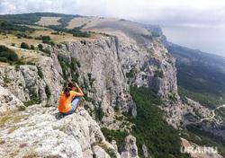Крым., мердвень каясы, южный берег крыма, юбк, туризм