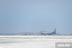 Аэропорт. Самолет. Челябинск., самолет, боинг, взлет, посадка, аэрофлот