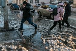 В городе масштабная коммунальная авария. Курган, коммунальная авария, потоп, прорыв водопровода, затопленные улицы