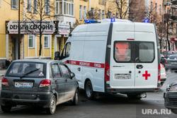 Авария с участием скорой помощи. Курган, автохам, авария, скорая помошь