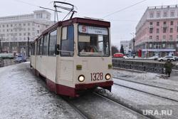 Клипарт и грязь. Челябинск., трамвай