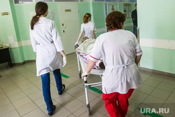 Больницы. Врачи. регистратура. Тюмень, больница, врачи, каталка, медицина