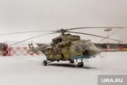Церемония ввода в эксплуатацию комплекса месторождений Эргинского кластера в Кондинском районе. Ханты-Мансийск  , военный вертолет, ми 8