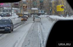Куса. Челябинская область, зима, златоуст, дорога