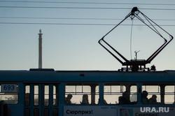 Общественный транспорт Екатеринбурга, трамвай, телебашня, общественный транспорт, недостроенная телевышка