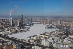 Екатеринбург готовится к ЧМ-2018, город екатеринбург, вид города, городской пруд, вид сверху
