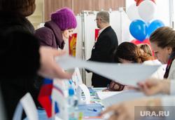 ВЫБОРЫ 2018. День голосования Сургут, выборы 2018, избирательный участок, голосование