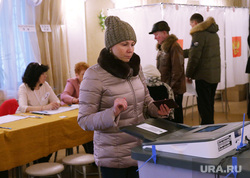 Выборы президента РФ в Перми, коиб, выборы 2018, избирательный участок, голосование