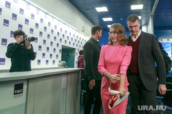 Пресс-конференция Ксении Собчак в ТАСС. Москва, папарацци, собчак ксения, фотограф, охранник
