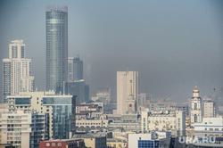 Виды Екатеринбурга, башня исеть, здание администрации екатеринбурга, екатеринбург, здание правительства свердловской области