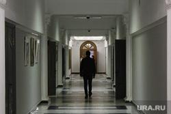 Первый рабочий день 2014 года. Мэрия. Администрация губернатора. Екатеринбург, коридор