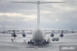 Виды Екатеринбурга, техобслуживание, самолет