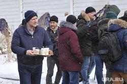 Активисты забрались на телебашню и требуют референдум. Фото с места событий, Екатеринбург, свалов алексей