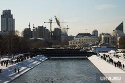 Снос недостроенной телевизионной башни (необработанные). Екатеринбург