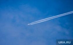 Клипарт. Екатеринбург, самолет, небо
