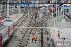 Железнодорожная станция, горка и вокзал. РЖД. Челябинск, горка, пути, ржд, железнодорожный узел