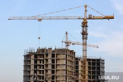 Клипарт. Екатеринбург, кран, строительный кран, недвижимость, стройка, строящееся здание