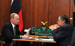 Аман Тулеев, путин владимир, тулеев аман