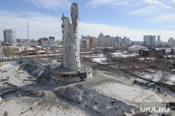 Снос недостроенной телевизионной башни. Екатеринбург, долгострой, развалины, руины, недостроенная телебашня, снос телебашни