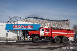 Последствия пожара в гипермаркете детских товаров