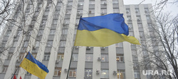 Евромайдан. Киев (Украина), митинг, флаг украины