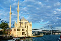 Турция, стамбул, арктика, турция, стамбул, мечеть ортакёй