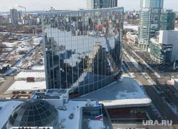 Екатеринбург с крыши здания правительства СО, хаятт