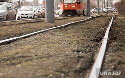 Виды Перми, рельсы, трамвайные пути
