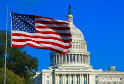 Клипарт depositphotos.com, правительство, вашингтон, флаг сша, здание капитолия, капитолийский холм