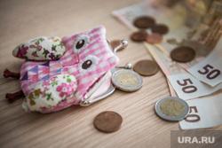 Клипарт, кошелек, евро, экономика, деньги, валюта