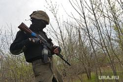 Украина. Славянск, боец, ополчение, оружие