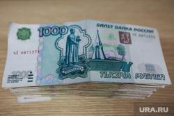 Клипарт., взятка, коррупция, деньги, тысяча рублей