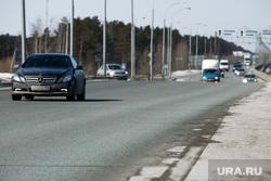 Дороги города через год после замены полотна. Сургут  , транспортная развязка, тюменский тракт