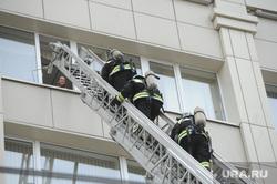 Учения МЧС на пожаре в Правительстве Челябинской области. Челябинск